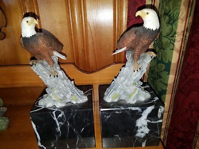 Eagles Bookends Very Heavy. MINT CONDITION