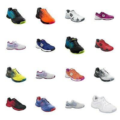 Wilson Junior Tennis Trainers Childrens Kids Shoes Various sizes and designs