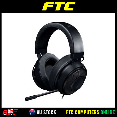 New Razer Kraken PRO V2 Gaming Headset Oval Black For Esports Pros RZ04-02050400