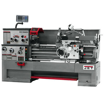 JET GH-1640ZX Large Spindle Bore Lathe With Newall DP700 DRO