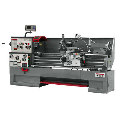 JET GH-1660ZX Large Spindle Bore Lathe With ACU-RITE VUE Taper & Collet Closer