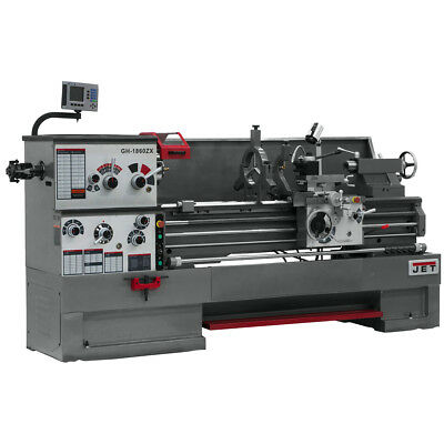 JET GH-2280ZX Large Spindle Bore Lathe With Newall DP700 DRO