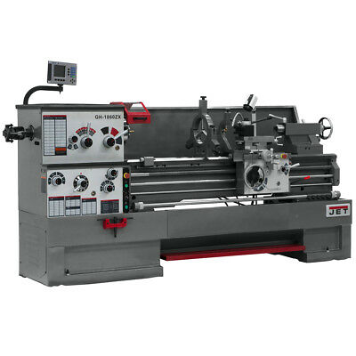 JET GH-2280ZX Large Spindle Bore Lathe With ACU-RITE 200S DRO & Taper Attachment