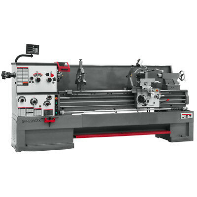 JET GH-26120ZH 4-1/8 Spindle Bore Geared Head Lathe With ACU-RITE 200S DRO