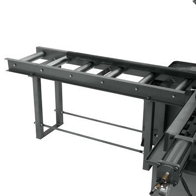 Jet 413413 Versatile Heavy-Duty Roller Stand for Mitering Bandsaws
