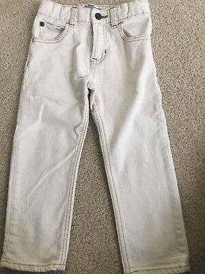Baby Gap Boys Size 3 Years Tan Jeans Classic Straight Leg