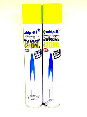 12Whip It Premium Butane - Buy 1 Get 1 Free - 420ML Ea - Zero Impurities - NEW