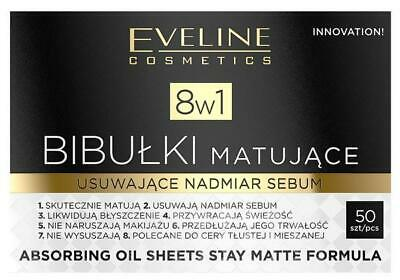 Mattierendes Blotting Paper 8 in 1, 50 St.
