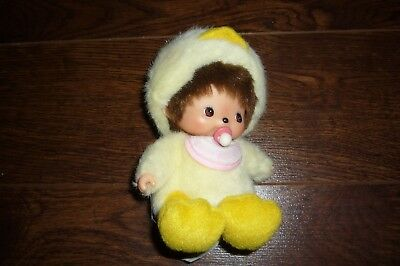 Monchhichi Sekiguchi Doll Baby Duck Plush Loose Original