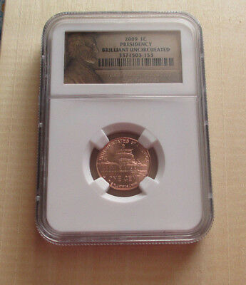 2009-P NGC Lincoln Bicentennial PRESIDENCY NGC Cent Brilliant Uncirculated