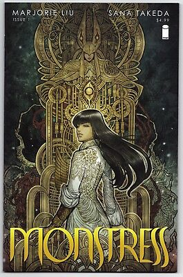 Monstress #1 1st Print, Marjorie Liu, Sana Takeda, High Grade, Image Comics