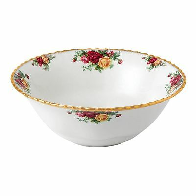 """Royal Albert Old Country Roses 10"""" SERVING CENTERPIECE BOWL NEW"""