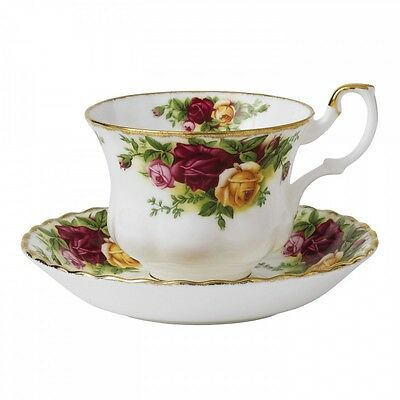 Made In England Old Country Roses Set Of 2 Tea Cup (S) And Saucer Royal Albert