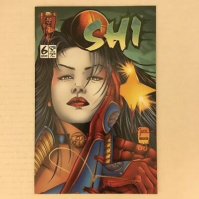 SHI: WAY OF THE WARRIOR #6 Tucci SIGNED w/ Lithograph & COA Crusade 1995 NM!!!