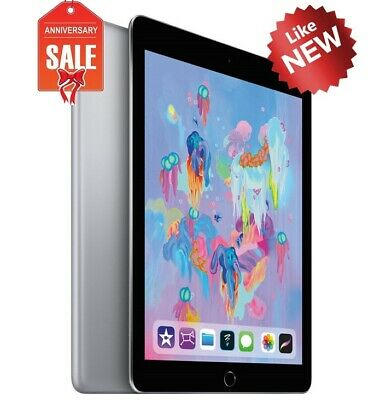 NEW Apple iPad 6th 2018 Gen. 32GB, Wi-Fi, 9.7in - Space Gray