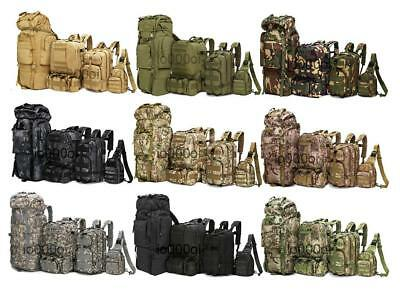Outdoor Military Tactical Camping Hiking Trekking 8L/10L/30L/55L/80L Backpack