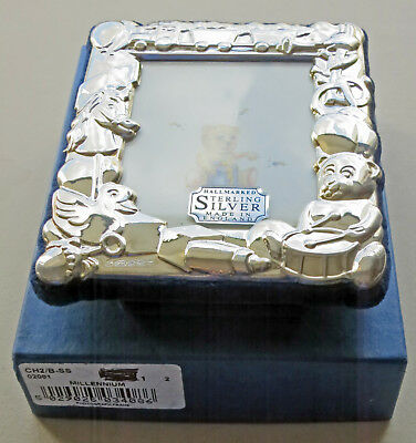 Sterling Silver Baby / Child Picture Frame By Carrs of Sheffield 2000