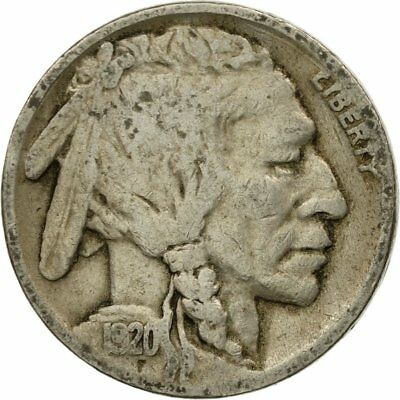 [#438086] Coin, United States, Buffalo Nickel, 5 Cents, 1920, U.S. Mint