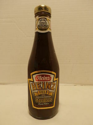 2001-Heinz-Field-Pittsburgh-Steelers-Opening-Day-Limited Edition Ketchup Bottle!