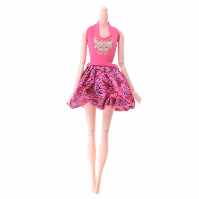 """for 11"""" 30cm Barbie Doll Dress Handmade Clothes 5pcs/kit Mixed style Hot Sale"""