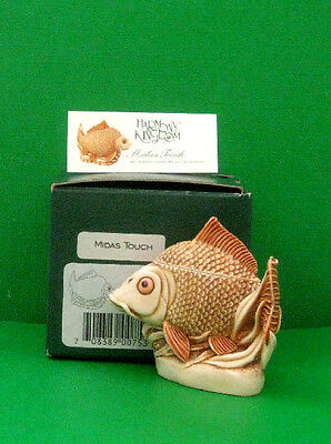 Harmony Kingdom MIDAS TOUCH- Highly Detailed Opening Fish Box - Ret.-Mold Broken