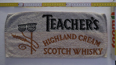 TEACHER'S HIGHLAND CREAM SCOTCH WHISKY Beertowel / Bartuch