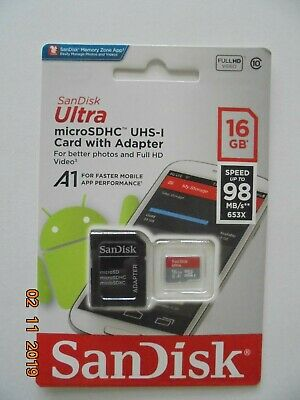 Kingston 16Gb Micro Sd  Memory Card Samsung Galaxy A7 S7  J5 All Mobiles/cameras