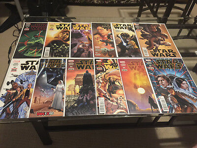 Star Wars 1 - 25 Annuals 1 2 Complete Lot Run Unread NM First Prints Aaron