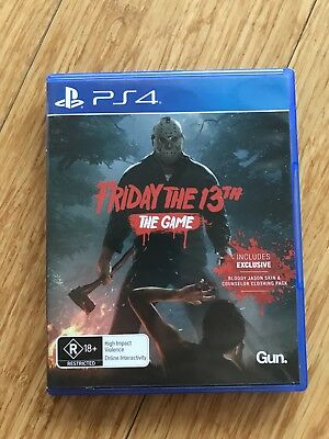 Friday The 13th The Game PlayStation 4 Game
