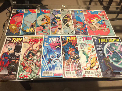 Time Masters 1 -8 and Vanishing Point 1 - 6 Complete Run Lot NM! Rip Hunter!