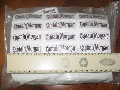 (20) Captain Morgan Rum Distillery Embroidered Patches Dealers Lot
