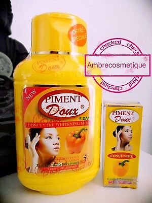 Piment Doux 2 Pieces Lait & Serum