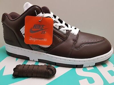 Uk12 Nike Brown 2 Supreme Air Force Sb X TFlJc1K