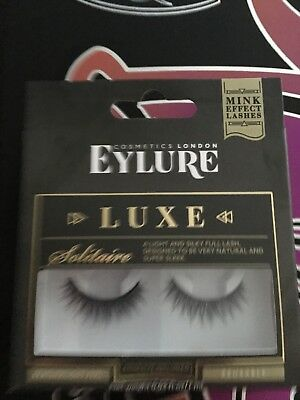 d810c9a0367 EYLURE LUXE MINK Effect False Eyelashes Solitaire x2 – New / Boxed ...
