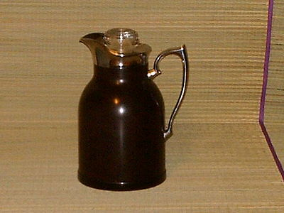Vintage Thermos Stronglas Bakelite 1950s glass cap stopper.take a look!