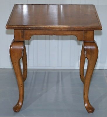 Rrp £2699 Ralph Lauren Walnut Occasional Very Large Side End Lamp Wine Table
