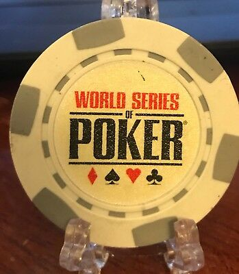 World Series Of Poker Collectible Poker Chip