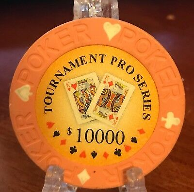 Tournament Pro Series $10,000 Collectible Poker Chip
