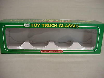 Hess Employee Display Gift Box Collector Truck Glasses + Card Nos Take A Look