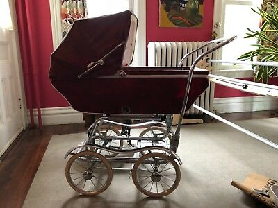 1950 vintage babyhood baby carriage buggy stroller by wonda-chair pram