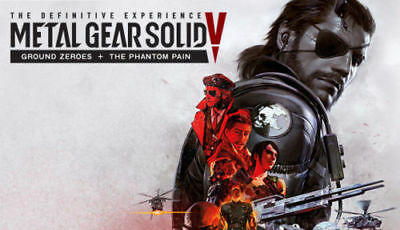 METAL GEAR SOLID V 5 The Definitive Experience CD KEY REGION FREE PC