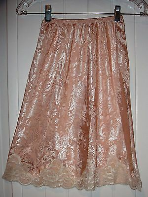 Incredible vintage half slip by Lucie Ann II sexy Light Pink size S