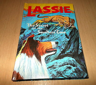 Whitman TV  Lassie The Secret of the Smelters' Cave  HC Hardcover  Book (1968)