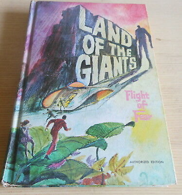 TV Land Of The Giants HC Whitman Book : Flight of Fear (1969)