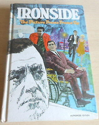 TV Ironside HC Whitman Book : The Picture Frame Frame-up (1969)