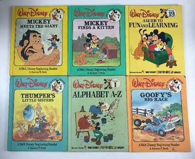 Walt Disney Fun To Learn Books 1 3 5 6 8 10 14 15 17 18