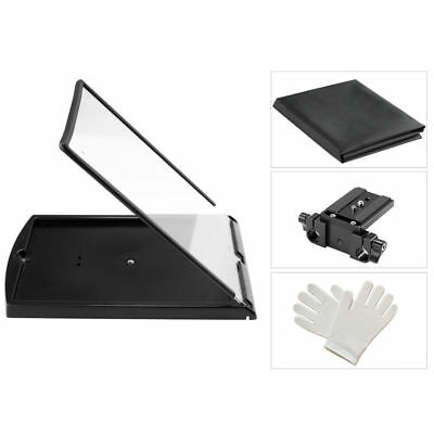 Filmcity Adjustable Portable iPad / Tablet / Smartphone Teleprompter Glare Cover