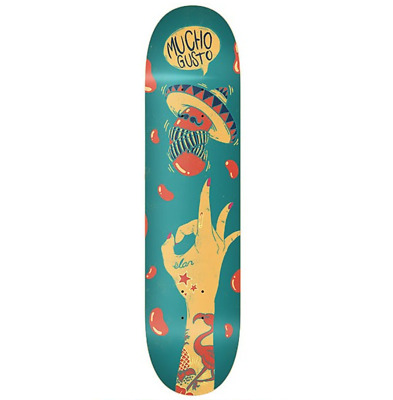 "Elan Flick The Bean 7.75"" Redline Skateboard Deck"