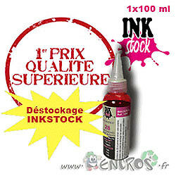 Recharge Kit 1x100ML Magenta Inkstock Couleur Universelle Pour HP