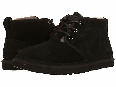 316d6b7def7 MEN UGG NEUMEL Lace Up Suede Boot 3236 Black Twinface 100% Authentic Brand  New